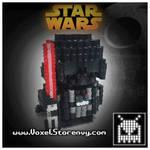 Darth Vader by VoxelPerlers