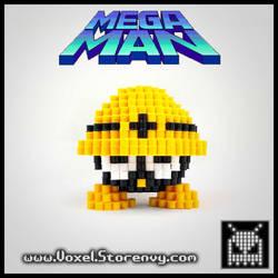 Metool (Megaman) by VoxelPerlers
