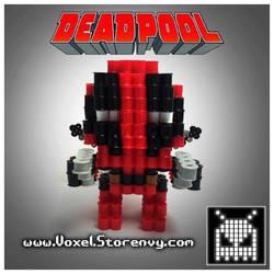 Deadpool 01 original by VoxelPerlers
