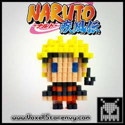 Naruto Uzumaki by VoxelPerlers