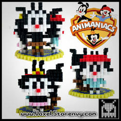 Animaniacs by VoxelPerlers