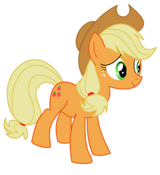 Just Applejack by Xyzzizzle