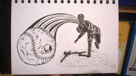The Pitcher Pitching by squeglz