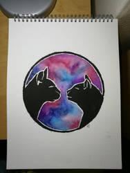 Kitties by squeglz