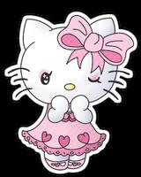 Hello Kitty: pink lolita by anineko