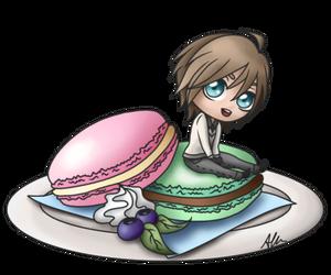 Ryan - sweet macaron by anineko