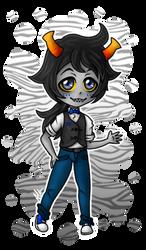 cute creep Zebruh by anineko
