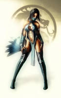 Kitana by NamelessRocker