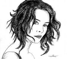 Lena Headey Portait by AndreaTn