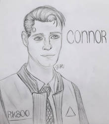 Connor DBH by Art-JCM