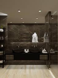 Bathroom design black by AlfonsoPerezAlvarez