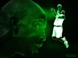 Mean Green - Kevin Garnett by SnapHook