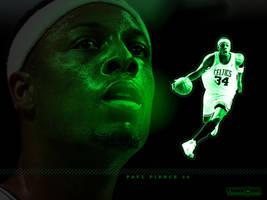Mean Green - Paul Pierce by SnapHook