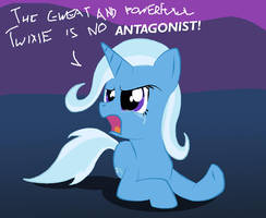 MLP:FiM - Trixie upset again by ProteusIII