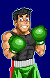 Super Punch Out Little Mac Nes Style by Spiderpenguin98
