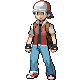 Pokemon Trainer Red Classic Design by Spiderpenguin98