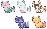 Kitty catto adopts [Flat price ~ Open!] by Smol-adoptss