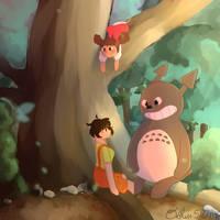 My Neighbor Totoro (FA by Oreothegreat