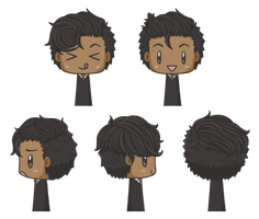Gavril: Chibis by MikaelHart