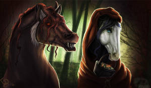 Li'l Red Riding Hood by Dalgeor