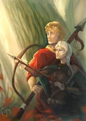 Ilasiak and Sakari by Dalgeor
