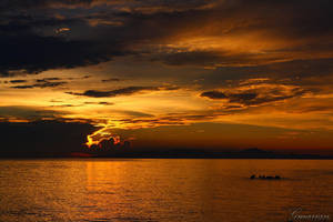 Fiery Sky by Gmarian