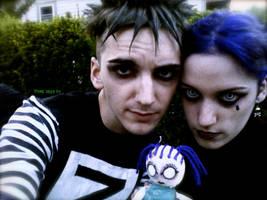 Johnny, Devi and Sickness by FrozenWaffleGirl