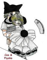 DGC, Piyoko and Coo - Hug Me by AnimeKittyCafe