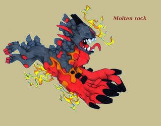 Gravedigger_Molten rock by lonespirits