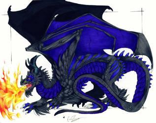 Emma's dragon by lonespirits