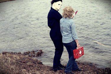 Dead by Daylight MichaelMyers/LaurieStrode Cosplay by SandyMisaki