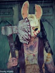 Dead by Daylight Huntress Cosplay by SandyMisaki