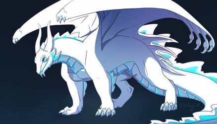 White Dragon OC by Ailita-Kuro