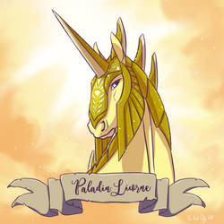 Paladin Unicorn by Ailita-Kuro