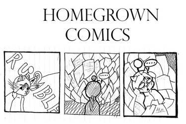 homegrown comics: homework by Akouma