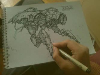 Sketch by bluerainCZ