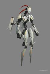 robot by bluerainCZ