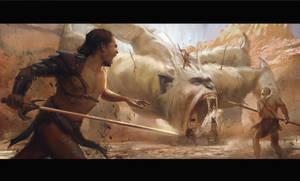Battle by kristmiha