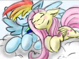 Cuddle by HonorandPride
