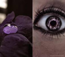 violet hill by erykucciola