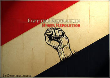 Egyptian Revolution by IM-Omar