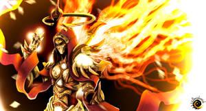 Master Auriel Hope Archangel of DIABLO 3 by Davickrovich