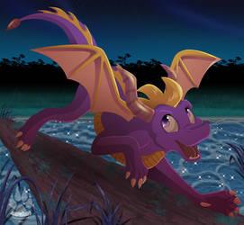 Spyro by NabbieKitty