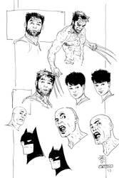 Photoshop/MangaStudios inking comparison by Alec-M