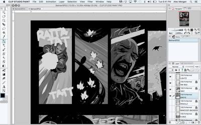 Batman Process by Alec-M