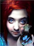 Free butterfly by vivi-art