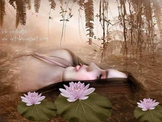 The sad Ophelia by vivi-art