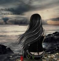 My melancholy by vivi-art