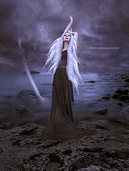 Storm Goddess by vivi-art