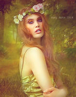 Ophelia beautiful to live by vivi-art